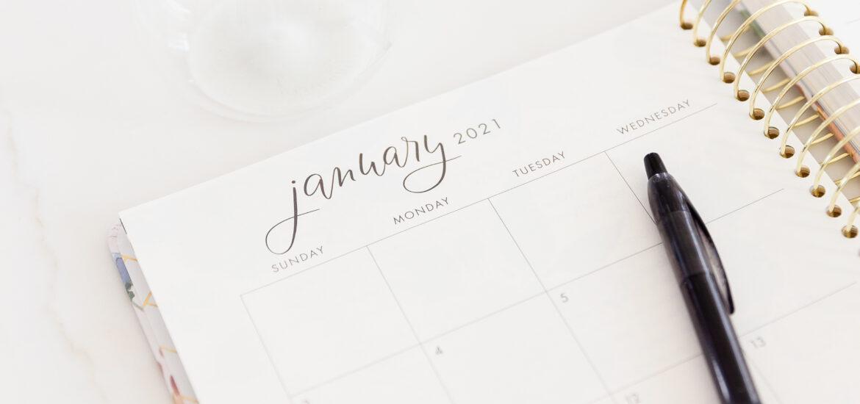 Januar Kalender