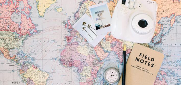 Reisen Weltkarte
